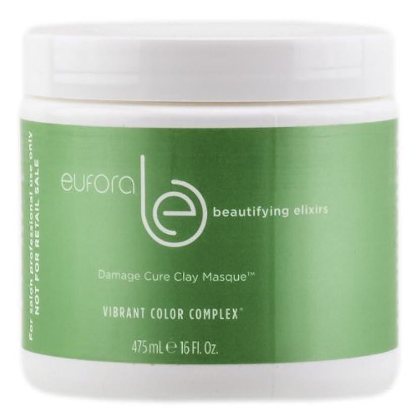 新鮮な薄い争いEufora Hair Euforaビューティエリキシルダメージキュアクレイ仮面 - 16オンスによって 16オンス