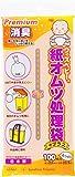 ウィズべビー プレミアム 消臭紙オムツ処理袋 プラス 100枚 白色 日本製