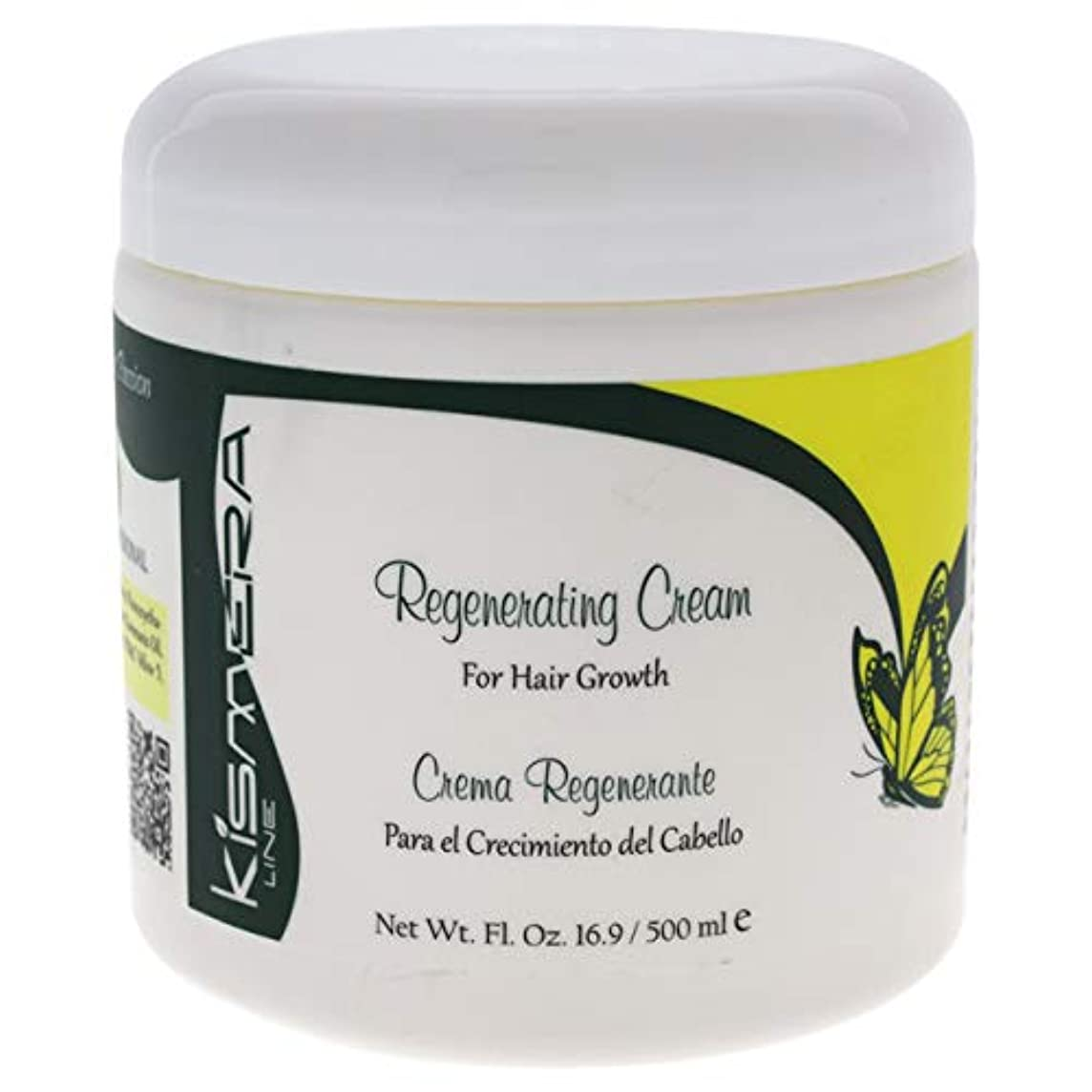 ビール融合切断するKismera Regenerating Cream for Hair Growth 16.9oz by KUZ
