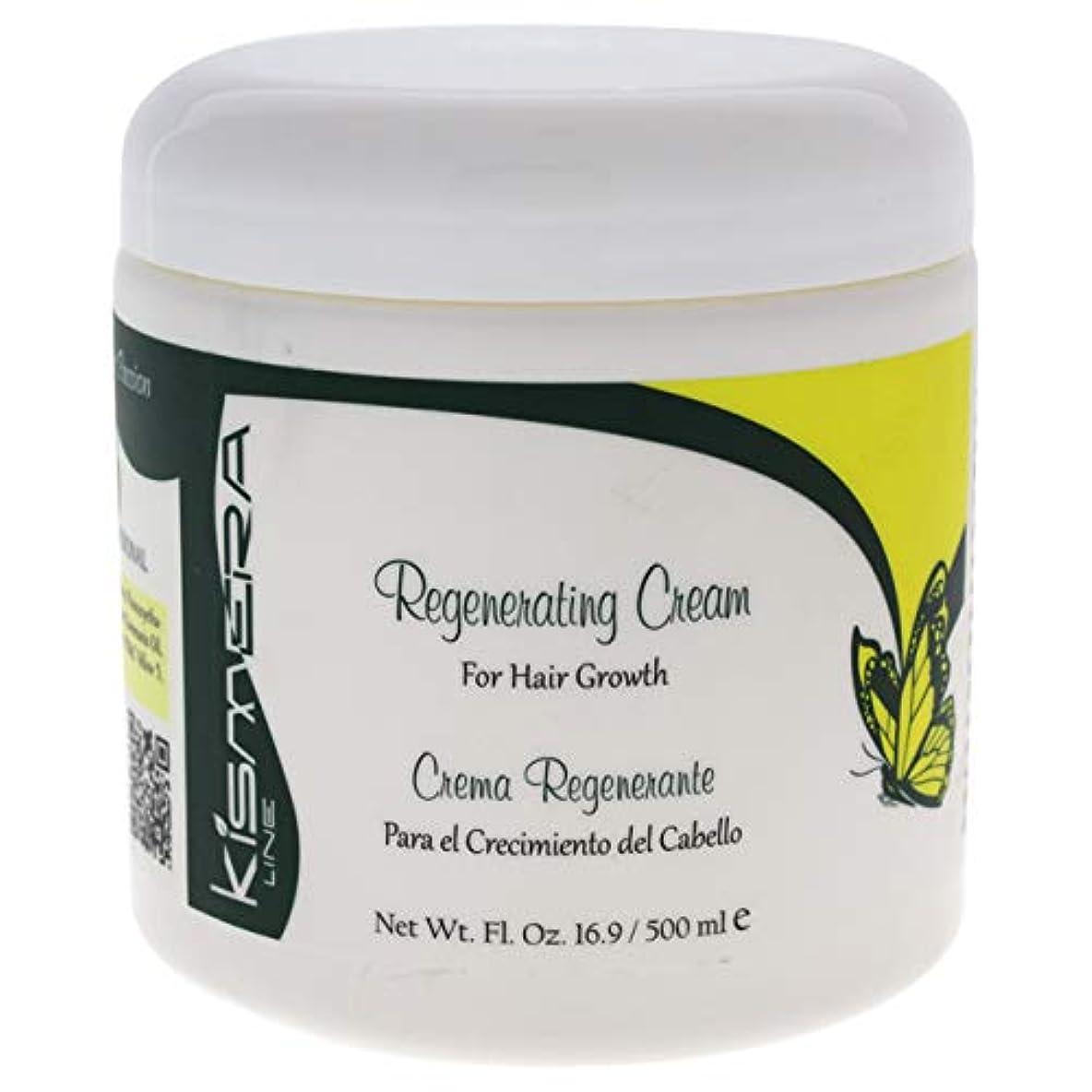 全く山岳補助Kismera Regenerating Cream for Hair Growth 16.9oz by KUZ