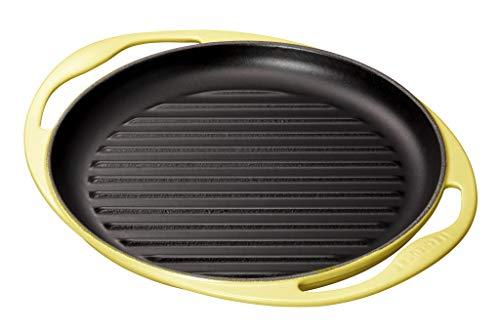 ル・クルーゼ(Le creuset) 両手鍋 ソレイユ 25cm ホーロー鍋、IH対応