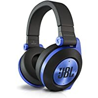 JBL Synchros E50BT ワイヤレスヘッドホン 密閉型/オーバーイヤー/Bluetooth ブルー E50BTBLU 【国内正規品】