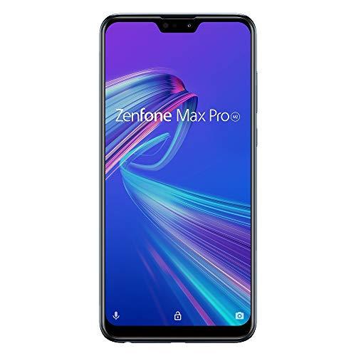 ASUS Zenfone Max Pro M2 【日本正規代理店品】 6.3インチ/ SIMフリースマートフォン / ミッドナイトブルー (4GB/64GB/5,000mAh) ZB631KL-BL64S4/A (500 Amazonコインクーポン付き)