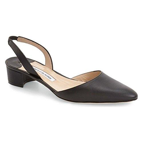 (マノロブラニク) MANOLO BLAHNIK レディース シューズ・靴 パンプス Aspro Block Heel Pump [並行輸入品]