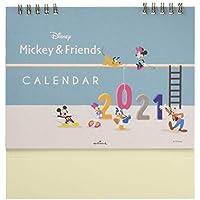 日本ホールマーク ディズニー 2021年 カレンダー 卓上 ミッキーと仲間たち 775476