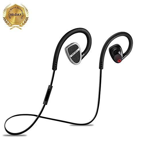 ブルートゥース イヤホン BEISTA 無線 高音質 Bluetooth イヤホン 携帯電話用 ワイヤレス イヤフォン IOS&Android システムに対応-黒