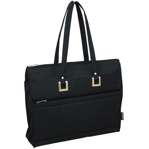 キルティングトート 年間定番売れ筋商品 #8013 レディース バッグ 肩掛け 鞄 就活 ビジネスバッグ ショルダーバッグ 黒