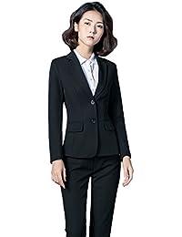 スーツ パンツスーツ 2点セット セットアップ テーラードジャケット 事務服 レディース ビジネス フォーマル 通勤 オフィス OL 就活 入学式 卒業式