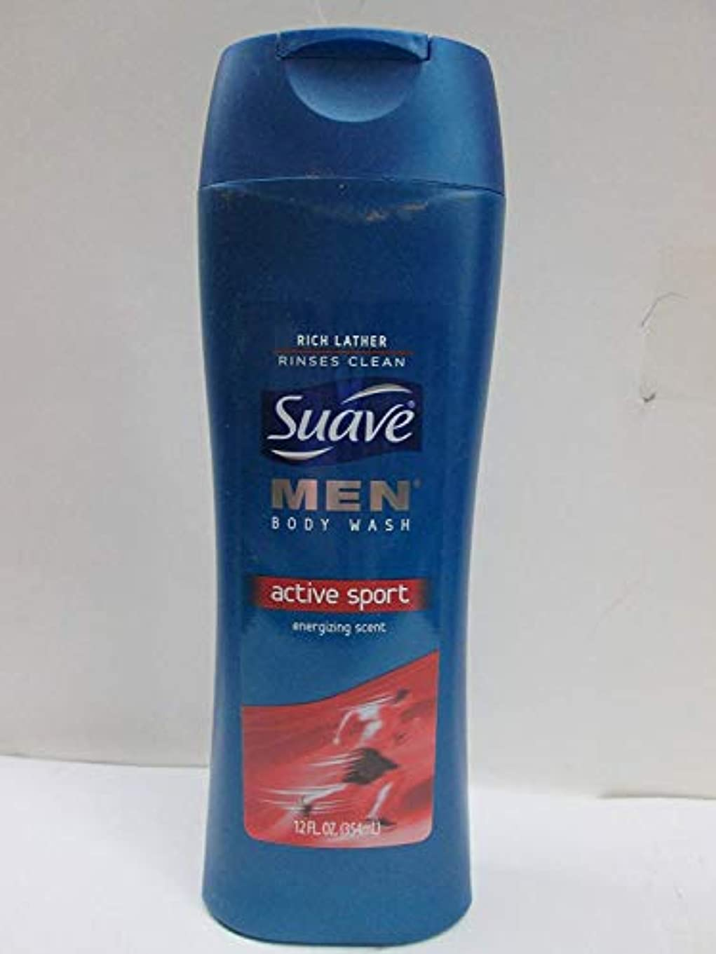 既に可動式超音速Suave Men Active Sport Body Wash