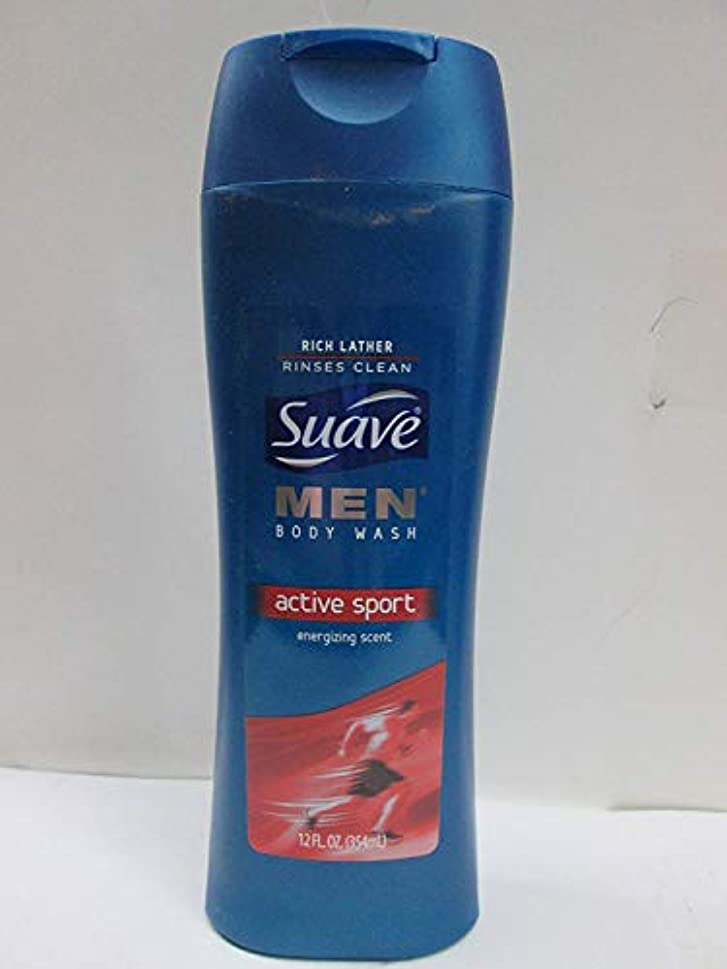涙常習的辞任Suave Men Active Sport Body Wash
