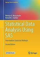 Statistical Data Analysis Using SAS: Intermediate Statistical Methods (Springer Texts in Statistics)