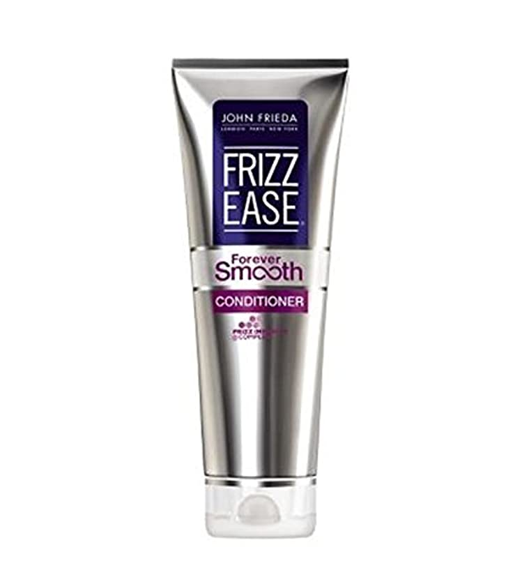 慣らす壊れた凝視ジョン?フリーダ縮れ-容易永遠に滑らかなコンディショナー250Ml (John Frieda) (x2) - John Frieda Frizz-Ease Forever Smooth Conditioner 250ml...