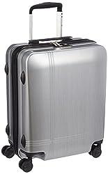 [アバロン] スーツケース クロノス 機内持込可  35L 48cm 2.8kg 05939 09 シルバーヘアライン