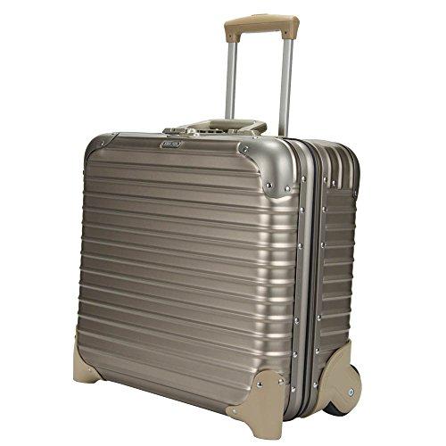 RIMOWA リモワ トパーズ チタニウム Topas Titanium ビジネストロリー チタンゴールド (シャンパンゴールド) スーツケース 2輪 28L 920.40.03.2/944.40/923.40.03.2
