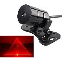 レーザー テールライト フォグランプ 追突防止 警告灯 レンズ交換可 12V-24V車型適用 車用も オートバイも適用 バックフォグ 防曇 防水 8種類選べます
