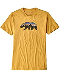 patagonia(パタゴニア)39143 M's Fitz Roy Bear Organic T-Shirt S YRTY