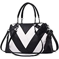 Large-Capacity Minimalist Tote Bag, Fashion,Hand-held Women's Bag, PU Bag, One-Shoulder Bag