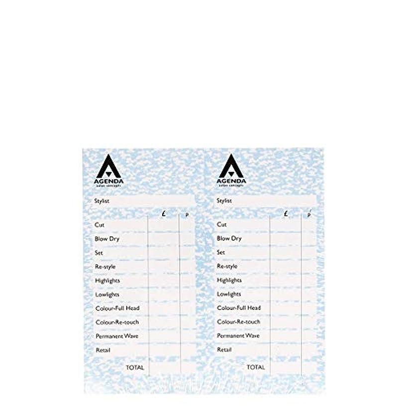勉強する混合橋脚アジェンダ サロンコンセプト チェックパッドブルー12x100リーフ[海外直送品] [並行輸入品]