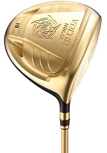 KATANA GOLF(カタナゴルフ) ドライバー VOLTIO NINJA 880Hi GOLD ドライバー フジクラ製オリジナルSpeeder 361 カーボンシャフト ロフト角:10度 フレックス:R