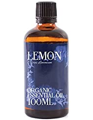 Mystic Moments | Lemon Organic Essential Oil - 100ml - 100% Pure