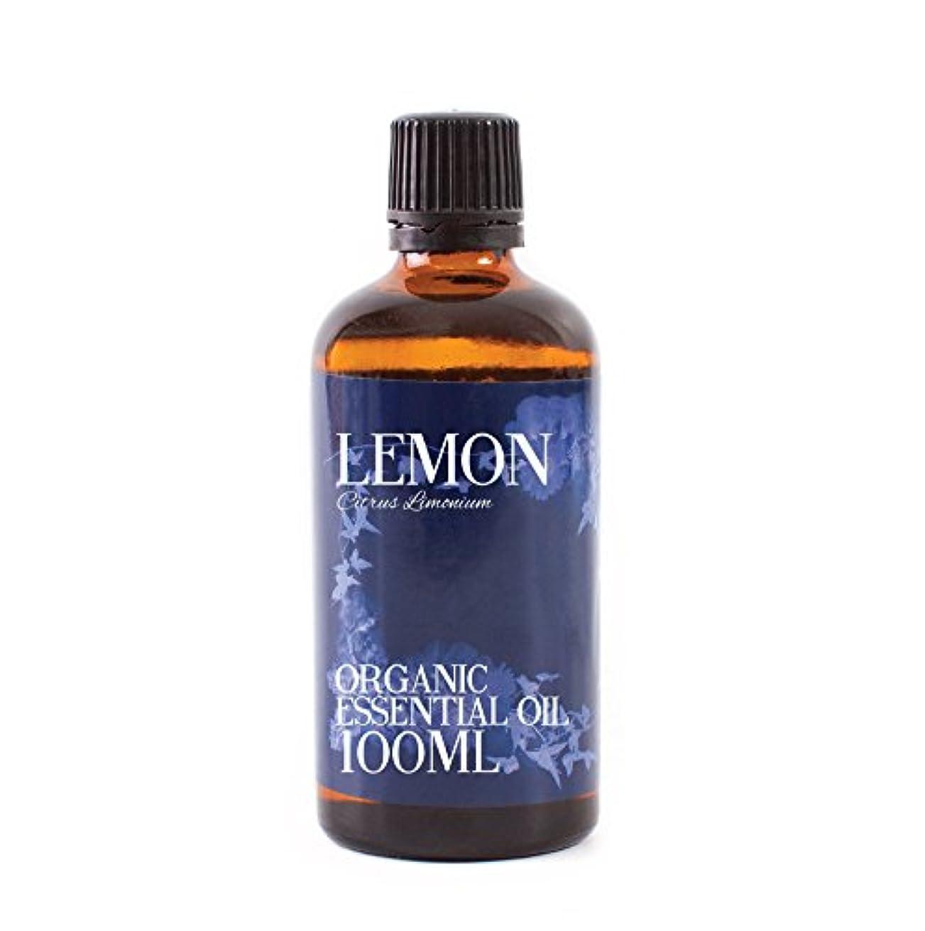 航空二年生腹部Mystic Moments | Lemon Organic Essential Oil - 100ml - 100% Pure
