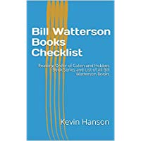 Bill Watterson Books Checklist: Reading Order of Calvin and Hobbes Book Series and List of All Bill Watterson Books (English Edition)