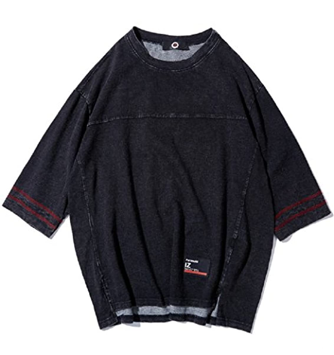 フロンティアネーピア推論LittleKK tシャツ メンズ 半袖 カットソー 七分袖 五分袖 高品質 おしゃれ 快適な 無地 柔らかい カジュアルな服装 M -3XL 75