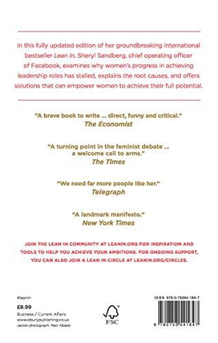 KnopfNATIONALBESTSELLER『LeanIn:Women,Work,andtheWilltoLead』
