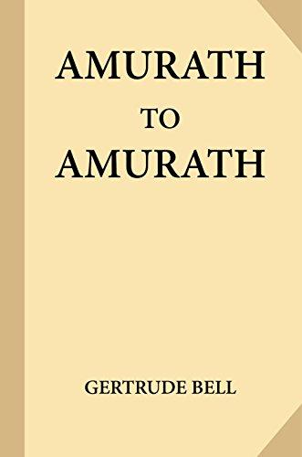 Amurath to Amurath (English Edition)