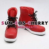 【サイズ選択可】コスプレ靴 ブーツ J-0392 僕のヒーローアカデミア 緑谷出久 デク 女性25CM