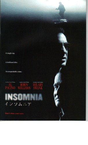映画パンフレット 「インソムニア」 出演 アル・パチーノ/ロビン・ウィリアムズ/ヒラリー・スワンク