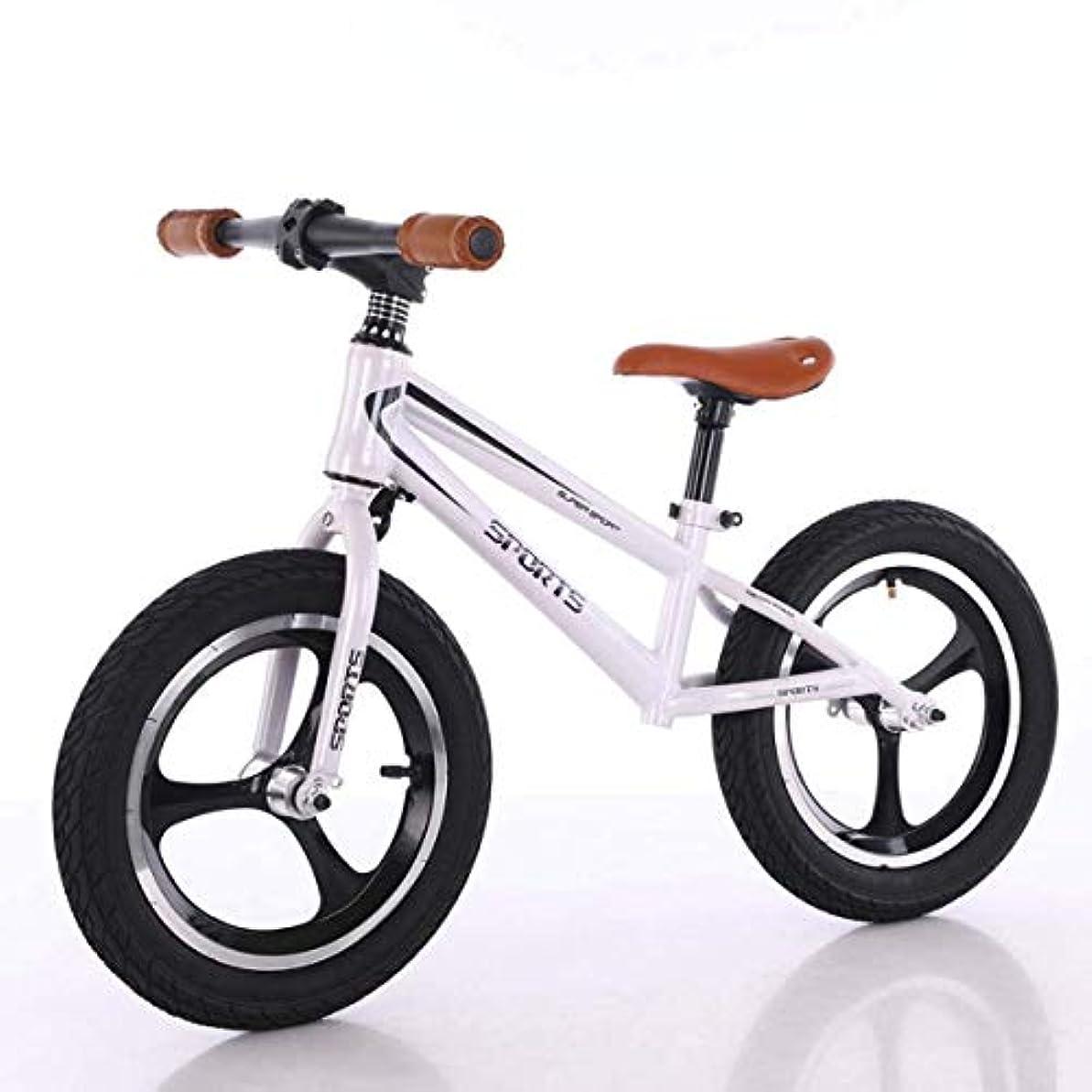 輸血清めるバランス2歳から7歳の少年少女向け14インチバランスバイク、トレーニング自転車、子供と幼児向けのペダルなしのウォーキングバランスバイク