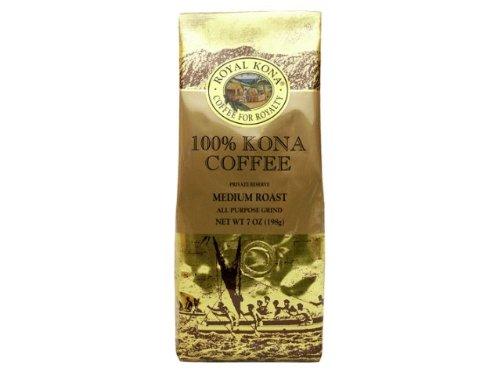 ロイヤルコナコーヒー 100%コナコーヒー ミディアムロースト 7oz 198g HAWAII ROYAL KONA COFFEE 100% KONA COFFEE MEDIUM ROAST