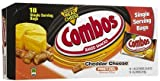 Combos Pretzel Snacks, Cheddar Cheese,コンボス チーズが入ったプレッツェル2箱 (51g x 36パック) [海外直送品]
