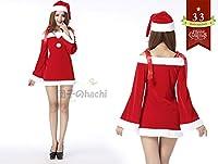 団子のhachi クリスマス 聖誕祭 サンタクロース Santa Claus コスチューム クリスマスパーティー バー コスプレ 服 衣装 (33)