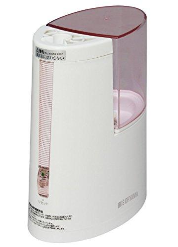 アイリスオーヤマ 加湿器 加熱式 ホワイト/ピンク SHM-100U