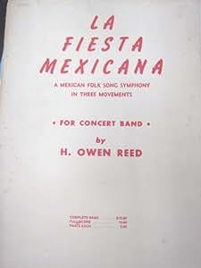 【吹奏楽】メキシコの祭り (H.O.リード)【楽譜】
