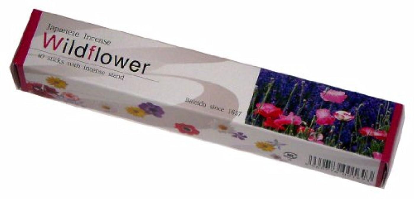 真っ逆さま強打ユニークな梅栄堂のお線香 IMAGINE Wild Flower