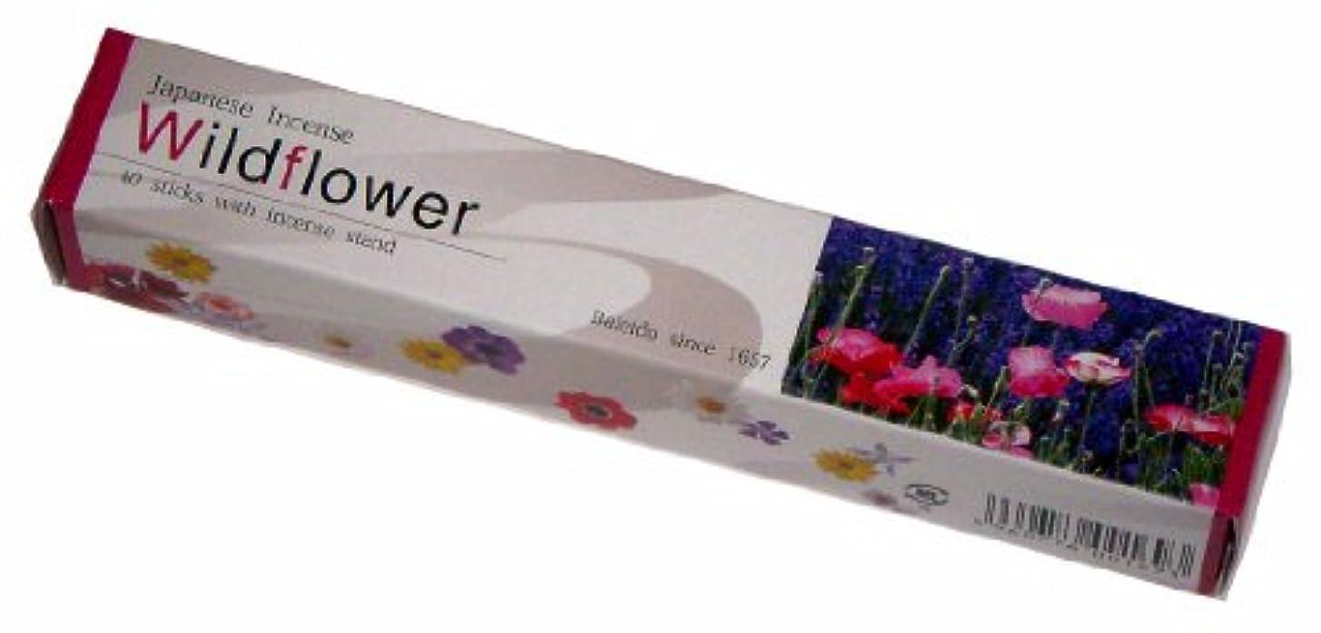絞る霜ポジティブ梅栄堂のお線香 IMAGINE Wild Flower
