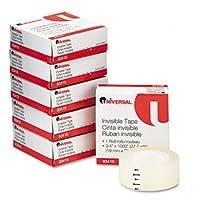 ユニバーサル® Invisibleテープテープ、。75x 10006rol / PK、CR (パックof15)