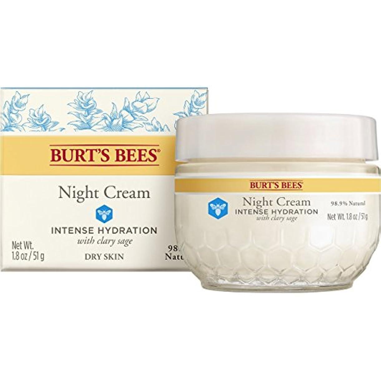 形式宝石拒絶バーツビーズ (Burt's Bees) インテンスハイドレーション ナイトクリーム 50g
