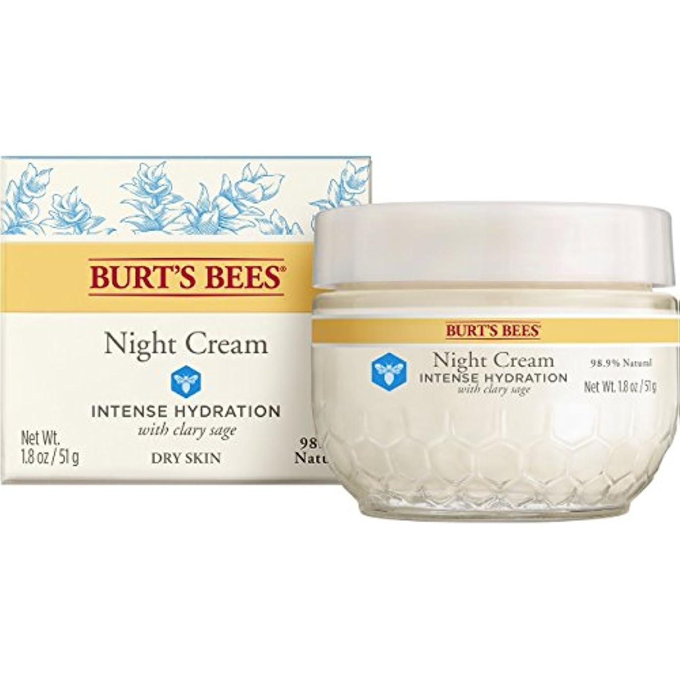 立場破産流産バーツビーズ (Burt's Bees) インテンスハイドレーション ナイトクリーム 50g