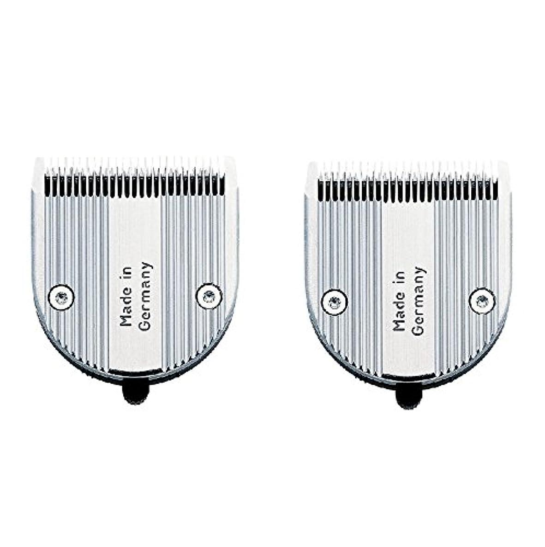 身元なかなか唯一【2枚セット】 WAHL クロムスタイル?プロ 専用替刃 標準 可変0.6~3mm
