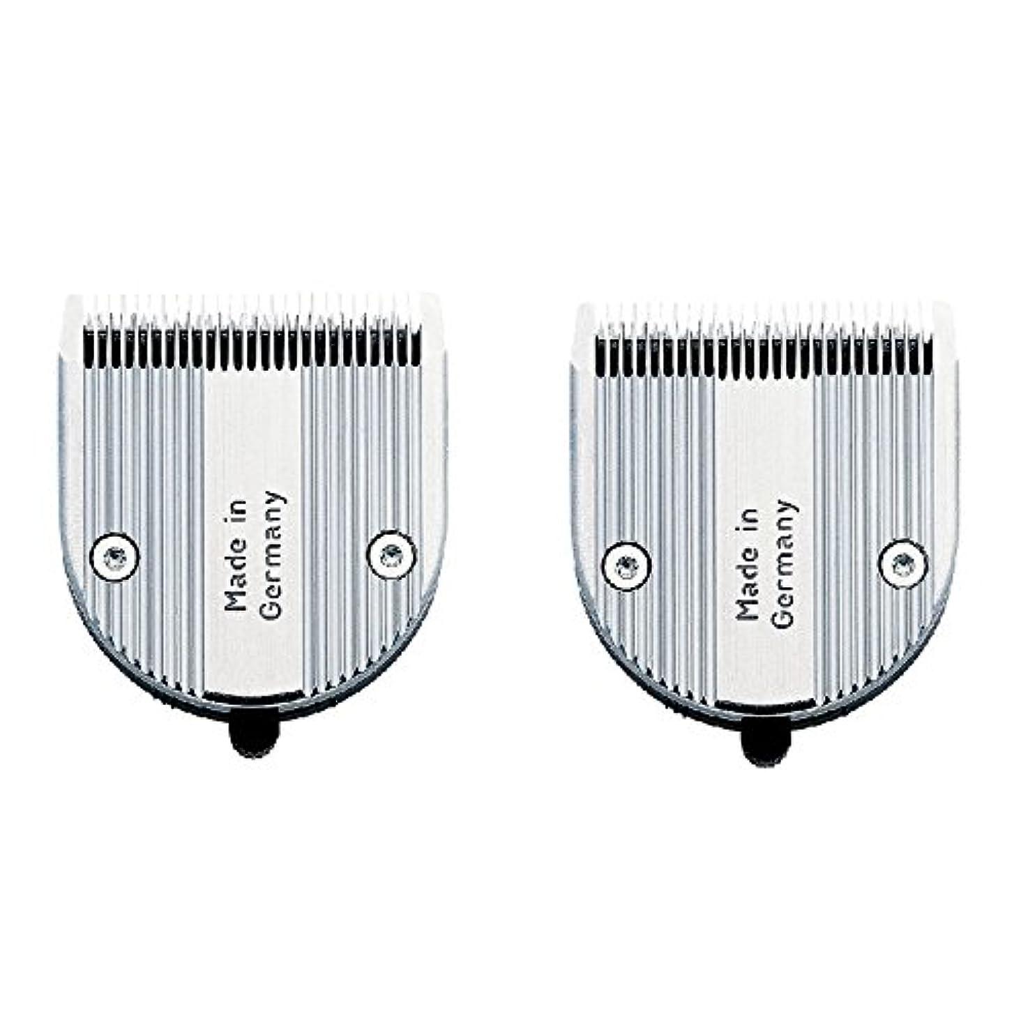 一致担保しかしながら【2枚セット】 WAHL クロムスタイル?プロ 専用替刃 標準 可変0.6~3mm