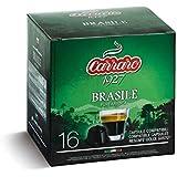 caffe carraro (コーヒーカラーロ) ドルチェグスト用カプセル シングルオリジン ブラジル コーヒーカラーロ 単品1箱 16カプセル入り