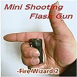 Shooting Flash Gun/Hand Flash/Fire Wizard / シューティング フラッシュガン ファイアウィザード  空手で火球を射撃 ハンドフラッシュ 大きな電子シングルショット/電子二管ショット/電子三管ショット/ミニシングル管ショット 4タイプ 近景/舞台マジック道具 アピアリングマジック 舞台効果 (ミニシングルフラッシュショット(ファイアエルフ2))