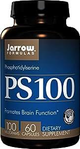 Jarrow Formulas ホスファチジルセリン サプリメント 60カプセル [並行輸入品]
