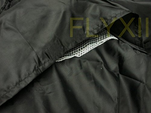 ブラックオートバイのカバーHonda crf230F CRF 230FバイクモーターサイクルカバーL
