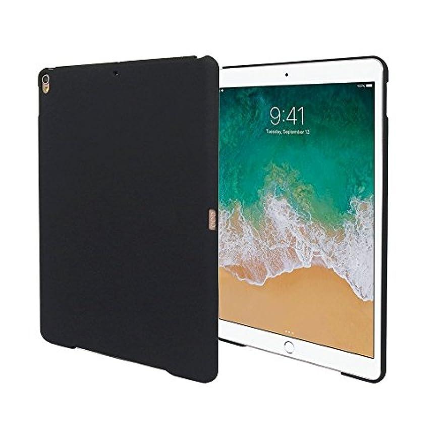 トラック一回トランクiPad Air 10.5 インチ(第3世代) 2019 / iPad Pro 10.5 ケース マットブラック apple 耐衝撃 薄型 耐熱性 シンプル つや消し カバー ハードケース ポリカーボネート【Timber】