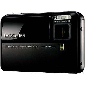 CASIO デジタルカメラ EXILIM (エクシリム)  EX-V7BK ブラック